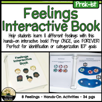 Feelings Interactive Book