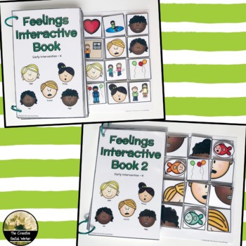 Feelings Interactive Book Set for Early Learners