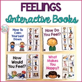 Feelings & Emotions Interactive Books - Adapted Books for