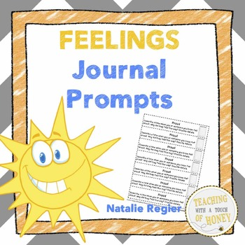 Writing Prompts About Feelings: 25 Cut-And-Paste Writing Prompts