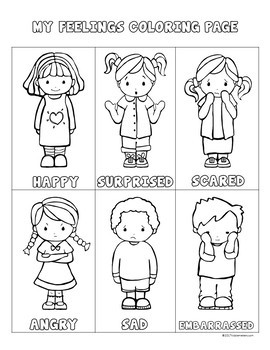 Feelings Journal: Helping Kids Express Their Feelings by ...
