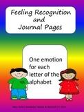 Feelings Journal Starter Pages