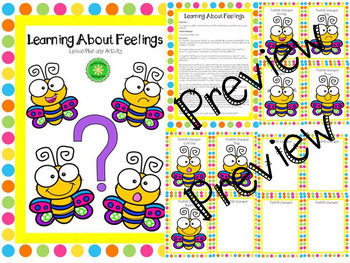 Feelings Lesson Plan and Activity