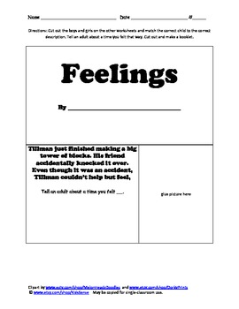Feelings Match and Booklet