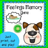 Feelings Memory Counseling Game