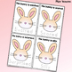 Feelings Mini-Book, Draw Bunny's Face & Trace Happy, Sad, Angry, Scared