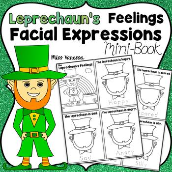 Drawing Facial Expressions, Saint Patrick's Day Activity