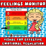 Feelings Monitor: Visual for Effective Emotion Management (Autism Aspergers ED)