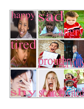 Feelings Picture Dictionary