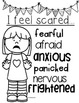 Feelings Posters A Writing and Reading Tool
