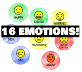 Feelings Posters - Links with the Zones of Regulation
