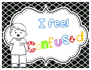 Feelings Posters & Popsicle Sticks