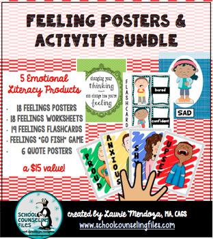 Feelings Posters & Activity Bundle