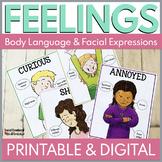 Feelings Activities & Feelings Posters in Digital and Print