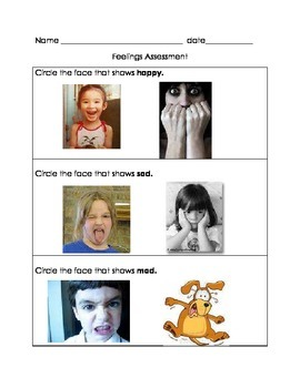 Feelings Quiz