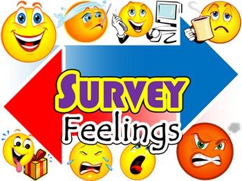 Feelings SURVEY (English Communication Activity)