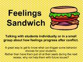 Feelings Sandwich - Talking about Behavior