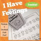 Feelings Scale Chart and Mini-book