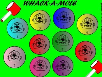 Feelings Scenarios Whack a Mole!  Throw a ball at your smartboard!
