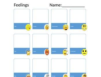 Feelings-School Counseling