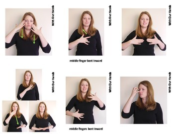 Feelings Sign Language (ASL) Vocabulary Cards