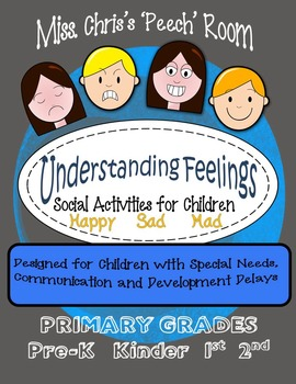 Feelings - Social Skills Activities Children with Disabili