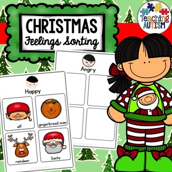 Feelings Sorting Pages Christmas
