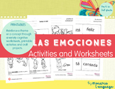 Feelings Spanish Lesson - Sentimientos NEW BUNDLE