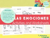 Feelings Spanish Lesson - Sentimientos NEW BUNDLE