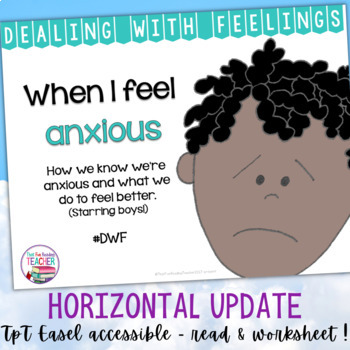 When I Feel Anxious - a Dealing With Feelings storybook lesson (starring boys)