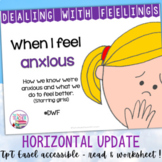 Identifying, managing feelings and emotions: Anxious girls
