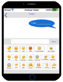 Feelings Tablet - Help Students Communicate How They Feel