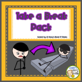 Feelings & Take a Break Pack