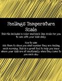 Feelings Temperature- Bears
