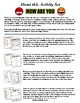 Feelings Themed Activity Set / Worksheets + Flashcards