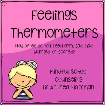 Feelings Thermometer Worksheet