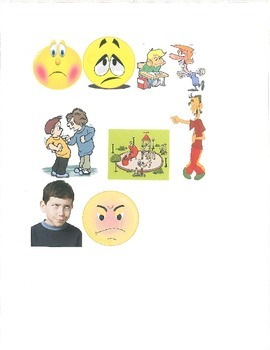 Feelings Thermometer with Pictures