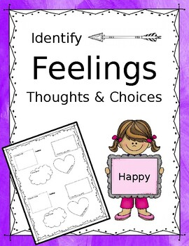 Feelings, Thoughts, and Choices Worksheet