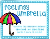 Feelings Umbrella: Learning to Weather A Storm of Feelings