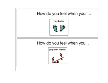 Feelings Unit (Autism/Speech-Language/Socialwork Therapy