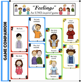 (Mixed Level) Social Skills: Feelings - Uno Inspired Game