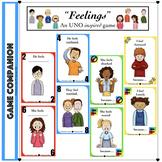 Social Skills: Feelings - Card Game (Distance Learning)