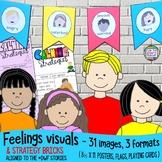 Feelings Visuals - Posters, Emotions Scales, Self-Regulation Strategies