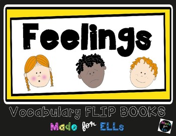ESL Feelings Vocabulary Flip Books