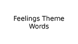 Feelings Vocabulary Review and Quiz