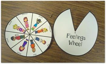 Feelings Wheel ~ Helpful School Counselor