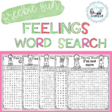 Feelings Word Search (School Counseling Freebie)
