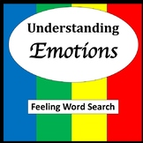 Feelings Word Searches [Zones of Self Regulation Activities]