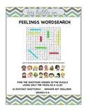 Feelings Wordsearch - Free