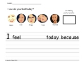 Feelings Worksheets for Kids with Special Needs